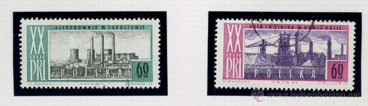 Sellos: POLONIA - LOTE DE 120 SELLOS DISTINTOS ENTRE 1959 Y 1964 - USADOS Y NUEVOS - VER FOTOS DE TODOS - - Foto 55 - 52734652