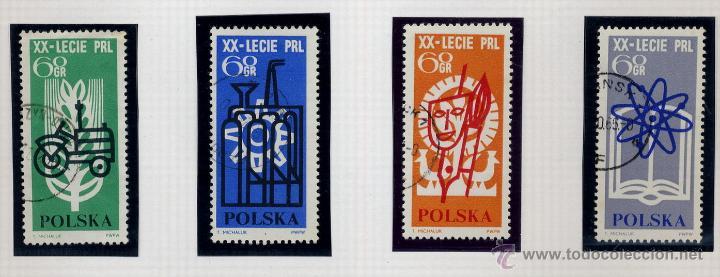 Sellos: POLONIA - LOTE DE 120 SELLOS DISTINTOS ENTRE 1959 Y 1964 - USADOS Y NUEVOS - VER FOTOS DE TODOS - - Foto 57 - 52734652