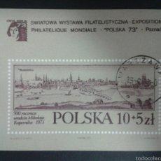 Sellos: SELLOS DE POLONIA. YVERT HB-61. SERIE COMPLETA USADA.. Lote 54728801