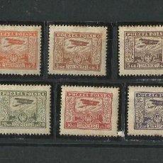 Sellos: POLONIA 1925 CORREO AEREO AVIONES SERIE COMPLETA. Lote 56301219