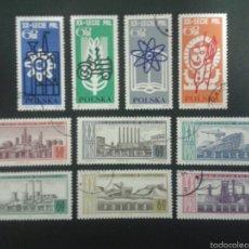 Sellos: SELLOS DE POLONIA. YVERT 1360/9. SERIE COMPLETA USADA.. Lote 57542859
