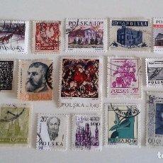 Sellos: 20 SELLOS POLONIA - ENVÍO 0,60 EUROS. Lote 61597768