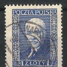 Sellos: POLONIA 1936 10º ANIVERSARIO DE LA PRESIDENCIA DE M. I MOSCISKI . Lote 62265596