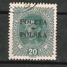 Sellos: POLONIA 1919 GOBIERNO PROVISIONAL SELLO DE AUSTRIA DE 1916-18 SOBRECARGADO EN CRACOVIA. Lote 62355232