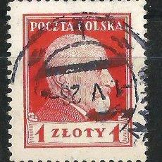 Sellos: POLONIA 1924. REPÚBLICA PRESIDENTE WOJCIECHOWSKY. USADO. Lote 66860338