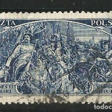 Sellos: POLONIA 1933. 250 ANIVERSARIO DE LA ENTREGA DE VIENA. Lote 66860966
