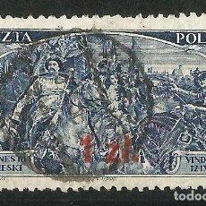 Sellos: POLONIA 1934. SELLO DE 1923-33 CON SOBRECARGA USADO. Lote 66861782