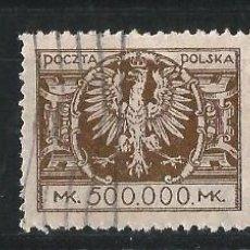 Sellos: POLONIA 1924 ÁGUILA. 3 FINALES DE SERIE. Lote 69861437