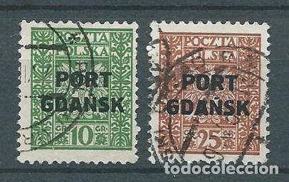 DANTZING,GDANSK,CORREO POLACO,1929,USADO (Sellos - Extranjero - Europa - Polonia)