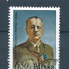 Sellos: POLONIA,1981,GENERAL WLADYSLAW SIKORSKI,USADO. Lote 72183306