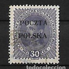 Sellos: POLONIA 1919 GOBIERNO PROVISIONAL SELLO DE AUSTRIA DE 1916-18 CON SOBRECARGA DE CRACOVIA. Lote 74379747