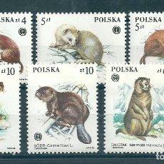 Sellos: POLONIA Nº 2758/63 (YVERT) AÑO 1984.. Lote 75635775