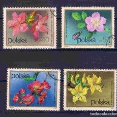 Timbres: FLORES DE POLONIA. SELLOS AÑO 1972. Lote 83594464