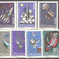 Timbres: POLONIA, 1964.. Lote 86165484