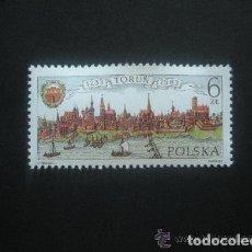 Sellos: POLONIA 1983 IVERT 2689 *** 750º ANIVERSARIO DERECHOS MUNICIPALES CIUDAD DE TORUN. Lote 236540095