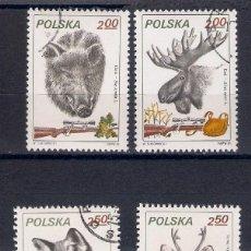 Sellos: FAUNA Y CAZA EN POLONIA. SELLOS AÑO 1981. Lote 87371104