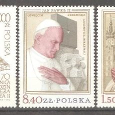 Timbres: POLONIA,JUAN PABLO II. Lote 91085790