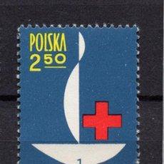 Timbres: POLONIA 1258** - AÑO 1963 - CENTENARIO DE CRUZ ROJA INTERNACIONAL. Lote 92320955