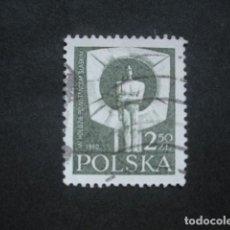 Sellos: POLONIA 1981 IVERT 2544 - 60º ANIVERSARIO DEL LEVANTAMIENTO EN ALTA SILESIA. Lote 94491938