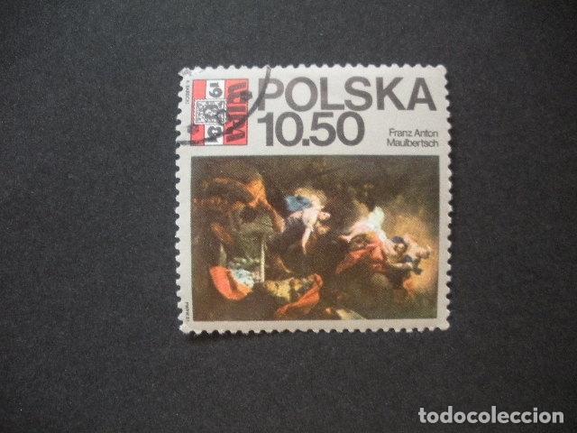 POLONIA 1981 IVERT 2552 - WIPA 1981 - EXPOSICION FILATÉLICA EN VIENA - PINTURA (Sellos - Extranjero - Europa - Polonia)