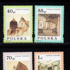 Sellos: POLONIA 3378/81** - AÑO 1996 - PINTURA - HOMENAJE AL PINTOR STANISLAS NAOKOWSKI. Lote 95508751