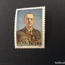 Sellos: POLONIA Nº YVERT 2553*** AÑO 1981. CENTENARIO NACIMIENTO GENERAL W. SIKORSKI. Lote 101026771