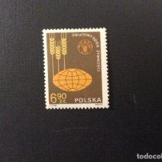 Sellos: POLONIA Nº YVERT 2592*** AÑO 1981. DIA MUNDIAL DE LA ALIMENTACION. Lote 101027187