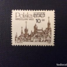 Timbres: POLONIA Nº YVERT 2631*** AÑO 1982. SERIE CORRIENTE. WROCLAW. Lote 101027623