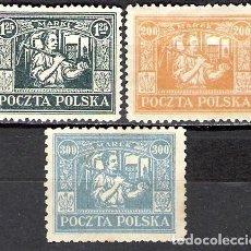 Sellos: POLONIA, ALTA SILESIA 1922-1923 - NUEVO. Lote 101205939