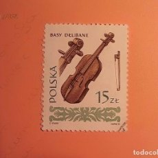 Sellos: POLONIA - MÚSICA - INSTRUMENTO MUSICAL - BAJO - BASY DLUBANE.. Lote 105672003