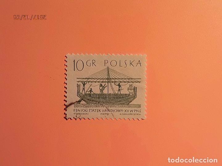 POLONIA - BARCOS - BARCO FENICIO. (Sellos - Extranjero - Europa - Polonia)