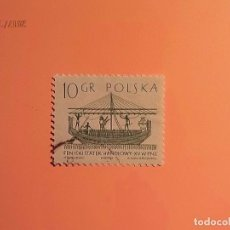 Sellos: POLONIA - BARCOS - BARCO FENICIO.. Lote 105672519