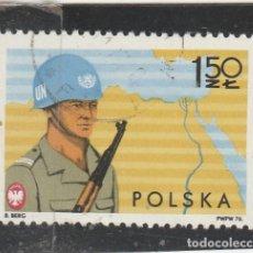 Selos: POLONIA 1976 - YVERT NRO. 2276 - MATASELLADO DE FAVOR. Lote 112629819