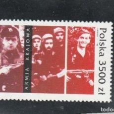 Sellos: POLONIA 1992 - YVERT NRO. 3213 - SIN GOMA. Lote 112630591