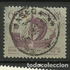 Selos: POLONIA- BARCOS- SELLO USADO. Lote 115619367