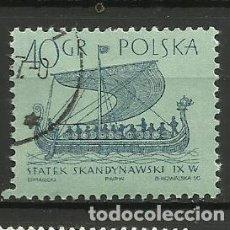 Sellos: POLONIA- BARCOS- SELLO USADO. Lote 115619423