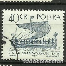 Selos: POLONIA- BARCOS- SELLO USADO. Lote 115619987