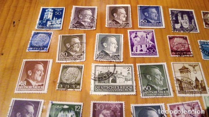 Sellos: 50 sellos circulados de polonia ocupada por alemania nazi de hitler - Foto 2 - 115952987