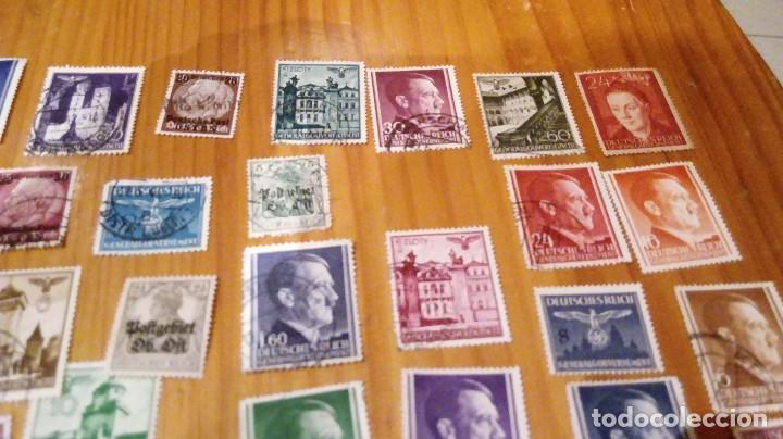 Sellos: 50 sellos circulados de polonia ocupada por alemania nazi de hitler - Foto 3 - 115952987