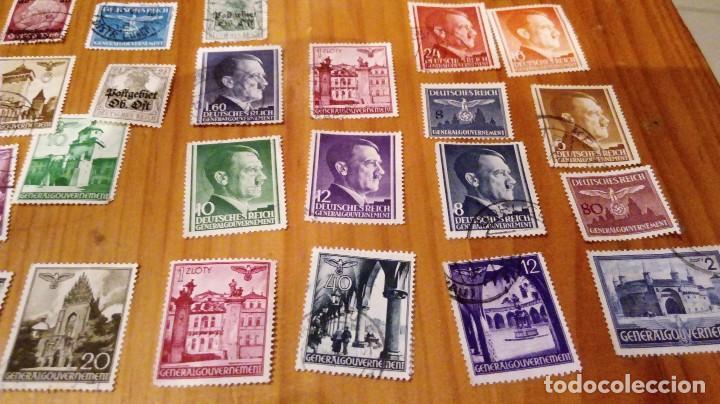 Sellos: 50 sellos circulados de polonia ocupada por alemania nazi de hitler - Foto 5 - 115952987
