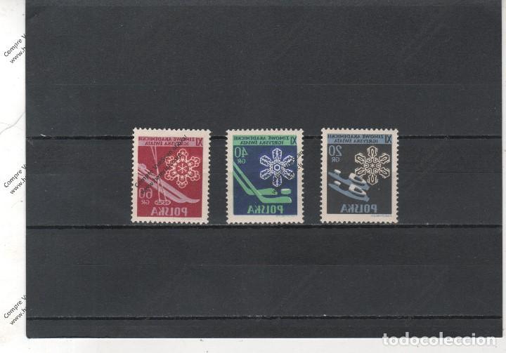 POLONIA Nº 852 AL 854(**) (Sellos - Extranjero - Europa - Polonia)