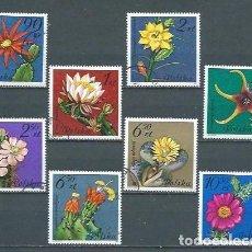 Sellos: POLONIA,FLORA,1981,USADOS,YVERT 2599-2606. Lote 123299078