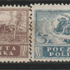 Sellos: LOTE C SELLOS POLONIA 1919. Lote 133098966