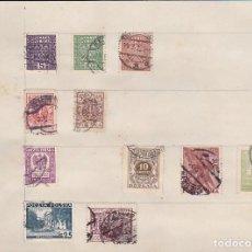 Sellos: LOTE DE 11 SELLOS DE POLONIA ENGANCHADOS CON CHARNELA . Lote 140866638