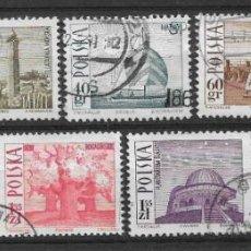 Sellos: POLONIA 1966 SC# NOS. 1439-1447 (9) USADO - 1/10. Lote 143039030