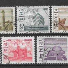Sellos: POLONIA 1966 SC# NOS. 1439-1447 (9) USADO - 1/10. Lote 143039074