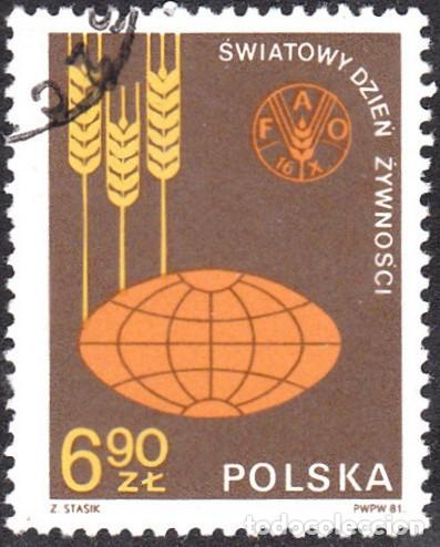 1981 - POLONIA - DIA MUNDIAL DE LA ALIMENTACION - YVERT 2592 (Sellos - Extranjero - Europa - Polonia)