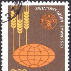 Sellos: 1981 - POLONIA - DIA MUNDIAL DE LA ALIMENTACION - YVERT 2592. Lote 143496138