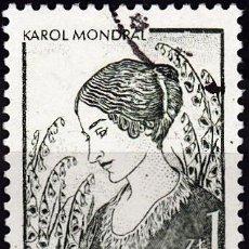 Sellos: 1979 - POLONIA - PINTURA - DIBUJO - KAROL MONDRAL - YVERT 2433. Lote 143671602