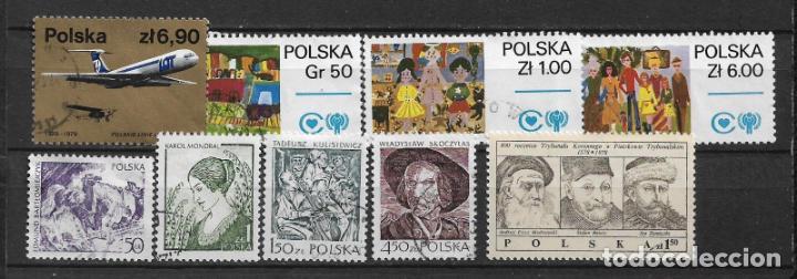 POLONIA 1979 LOTE USADOS - 1/34 (Sellos - Extranjero - Europa - Polonia)